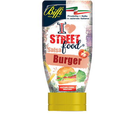 Salsa Burger - I Love Streetfood - 247g