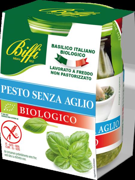 pesto biffi senza aglio biologico barattolo