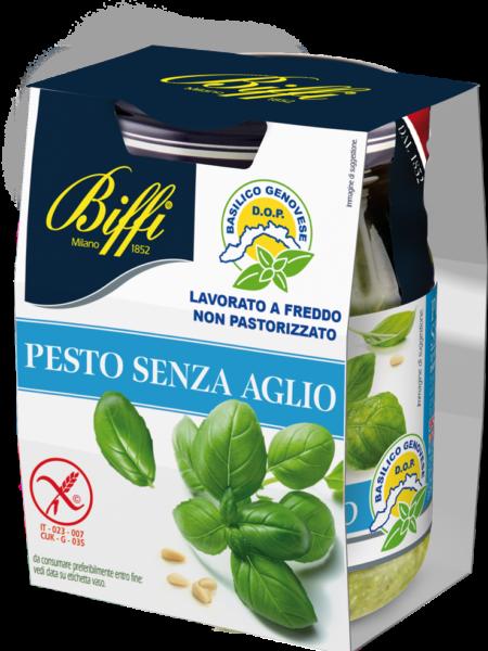 Pesto Senz'Aglio con Basilico Genovese Dop