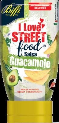 I love street food Salsa Guacamole