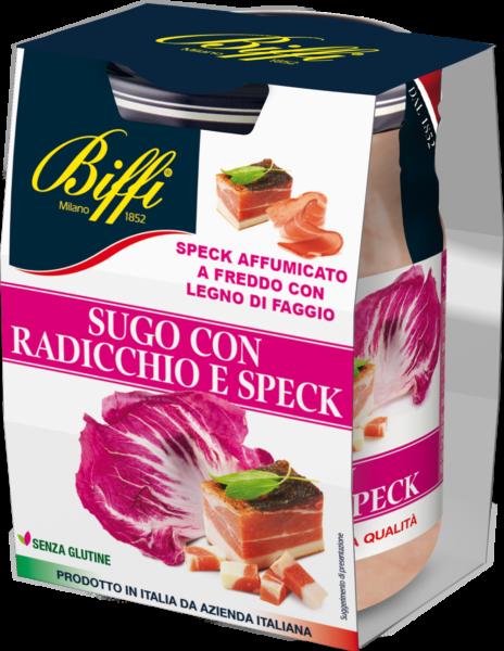 Sugo con Radicchio e Speck