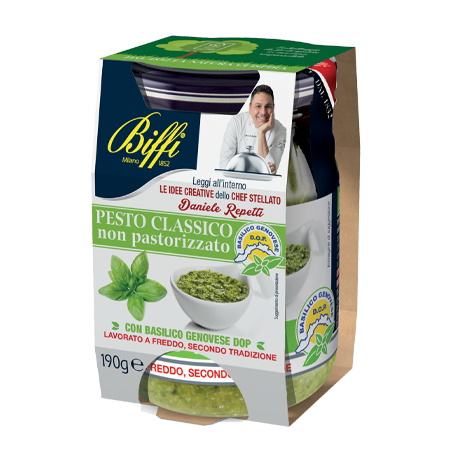 Pesto Classico con Basilico Genovese DOP - 190g